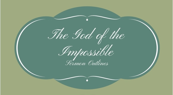 The God of the Impossible Series Outlines