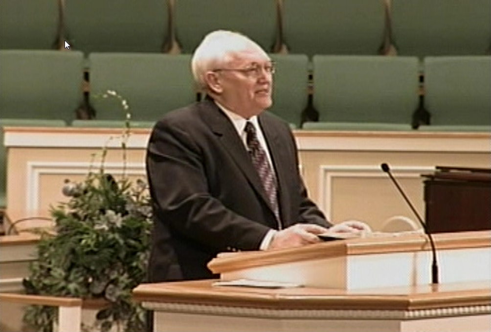 Evangelist Wilbur Hurt – What Does Go Think About Sinners?